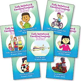 Early Imitation & Emerging Language Stories 7-Book Set