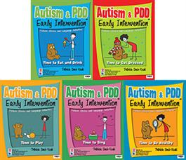 Autism & PDD Early Intervention: 5-Book Set