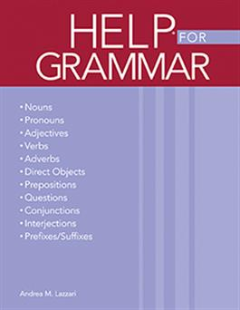 Handbook of Exercises for Language Processing HELP® for Grammar