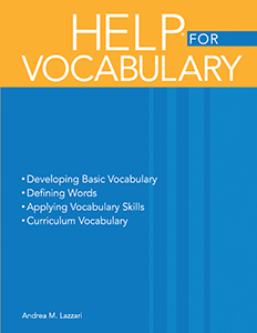 Handbook of Exercises for Language Processing HELP® for Vocabulary