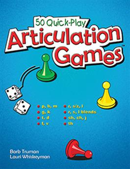 50 Quick-Play Articulation Games E-Book