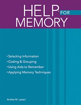 Handbook of Exercises for Language Processing HELP® for Memory E-Book
