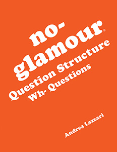 No-Glamour® Question Structure Wh-Questions E-Book