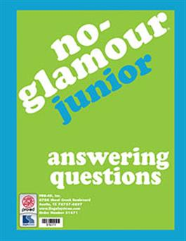 No-Glamour® Junior Answering Questions E-Book