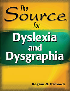 The Source® for Dyslexia and Dysgraphia E-book