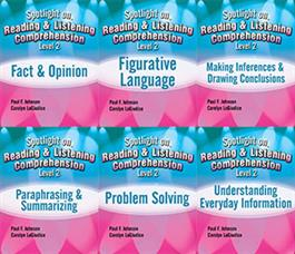 Spotlight on Reading & Listening Comprehension Level 2: 6-Book Set E-Book