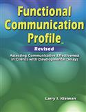FCP-R: Functional Communication Profile–Revised