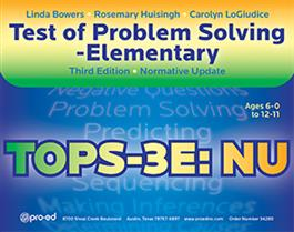 Test Of Problem Solving–Third Edition Elementary: Normative Update (TOPS-3E: NU)