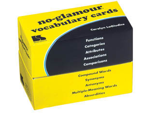 No-Glamour® Vocabulary Cards