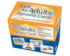 Just for Adults Apraxia Cards