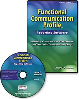 Functional Communication Profile–Revised (FCP-R) Reporting Software