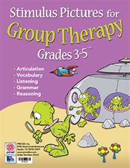 Stimulus Pictures for Group Therapy Grades 3-5