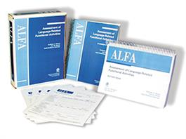 ALFA: Assessment of Language-Related Functional Activities