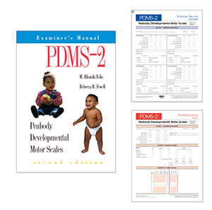 PDMS-2: Peabody Developmental Motor Scales-Second Edition-Test Only Kit