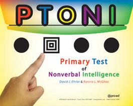 PTONI: Primary Test of Nonverbal Intelligence