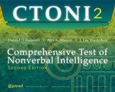 CTONI-2: Comprehensive Test of Nonverbal Intelligence – Second Edition
