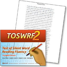 TOSWRF2: Test of Silent Word Reading Frequency 2